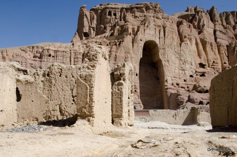 Bamiyan Buddha's site