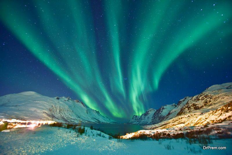 Northern Lights in Lapland Scandinavia