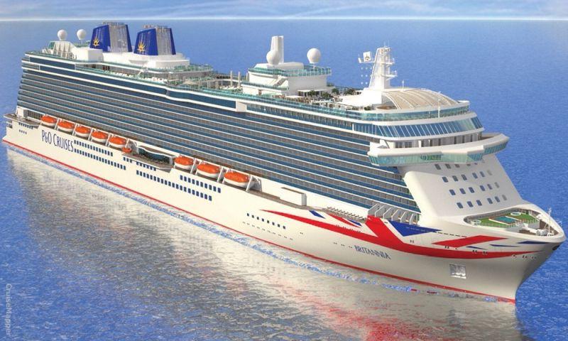 British favorite P&O Cruise