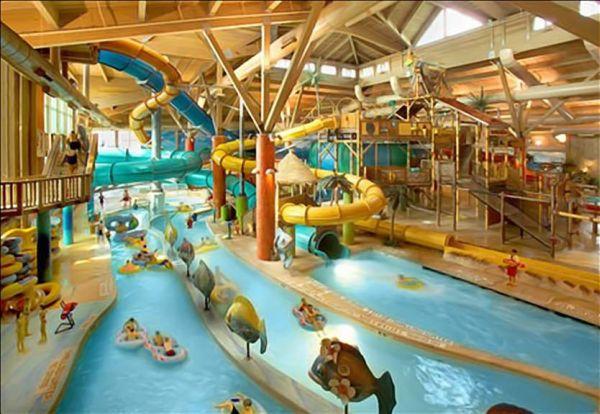 Wilderness Territory Water Park Resort