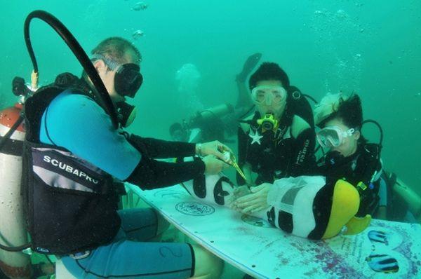 Trang Underwater Wedding, Thailand