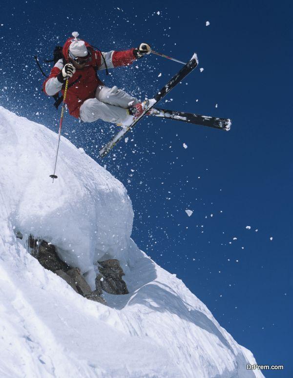 skiing at zurich