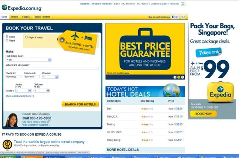 Travel packages deals for Best travel discount websites