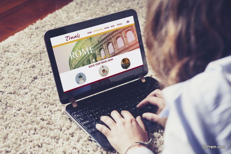 Travel package deal websites