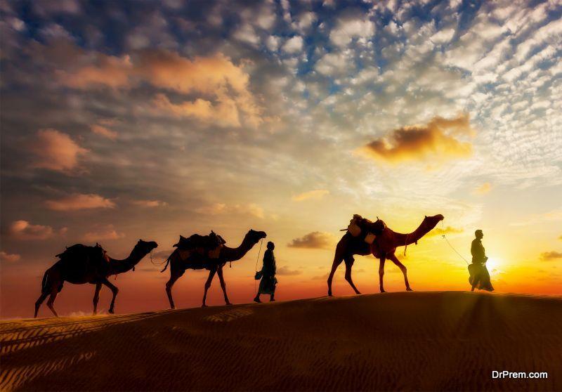 Camping-in-Sahara-desert