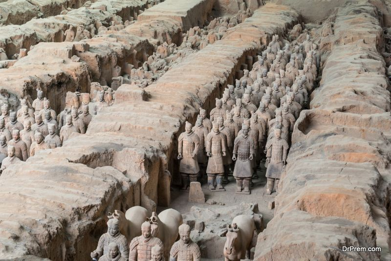 Mausoleum-of-the-first-Qin-emperor-and-terracotta-army-Shaanxi