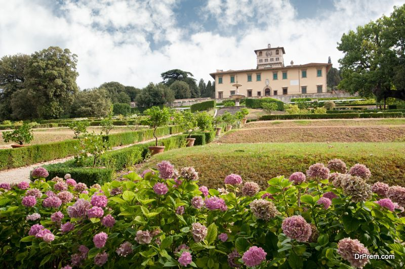 Medici Villas and Gardens in Tuscany