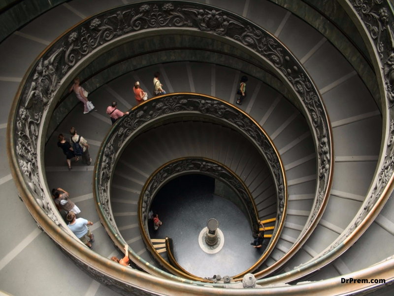 THE VATICAN MUSEUMS Rome, Italy