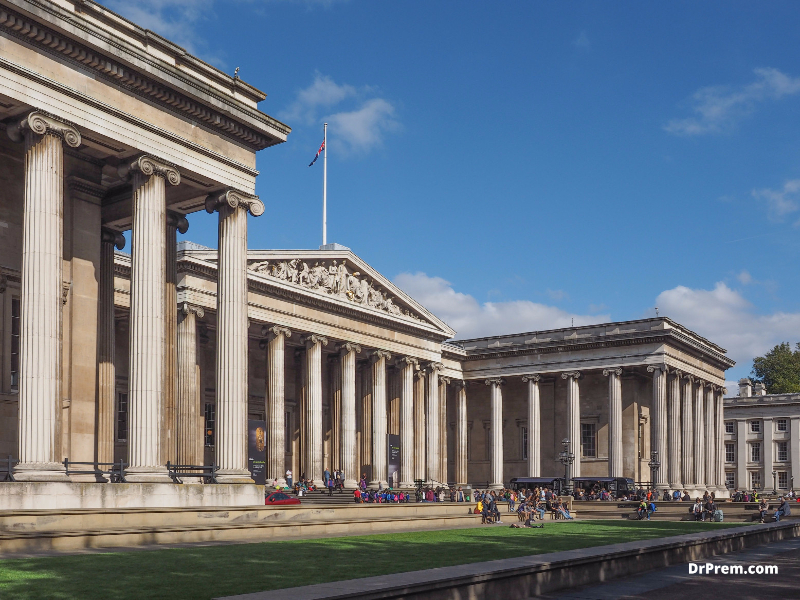 THE BRITISH MUSEUM London, UK