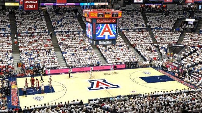 Game at the McKale Center
