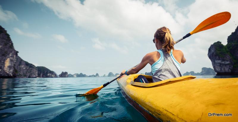 Try Tandem Kayaking