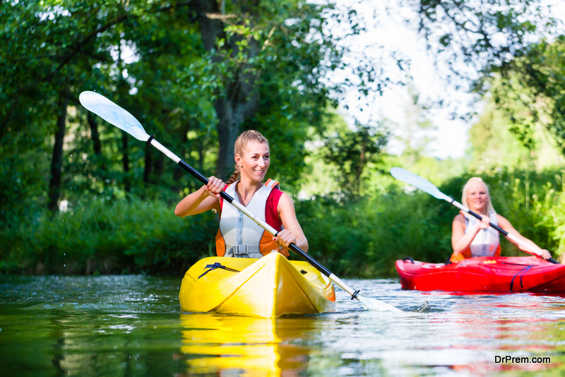 Try Tandem Kayaking