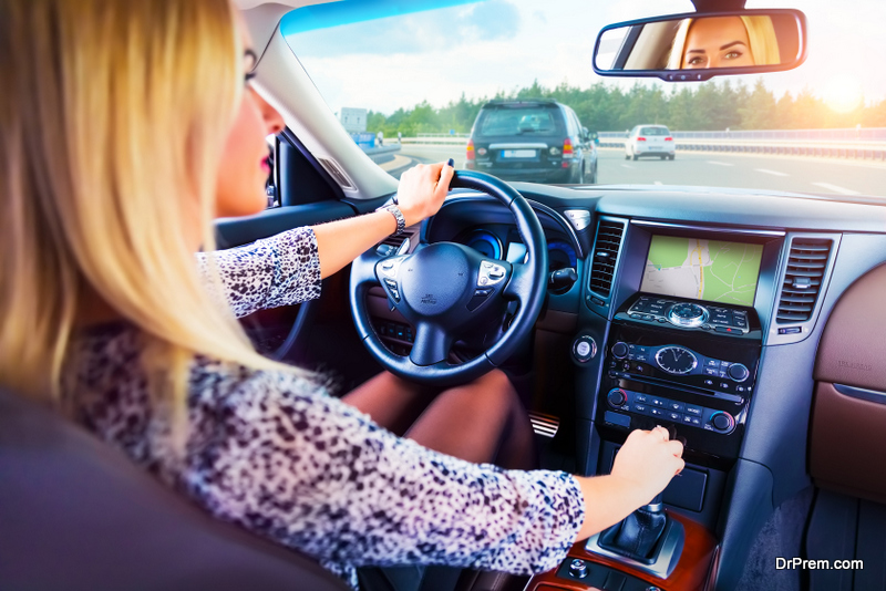 Choose a rented car