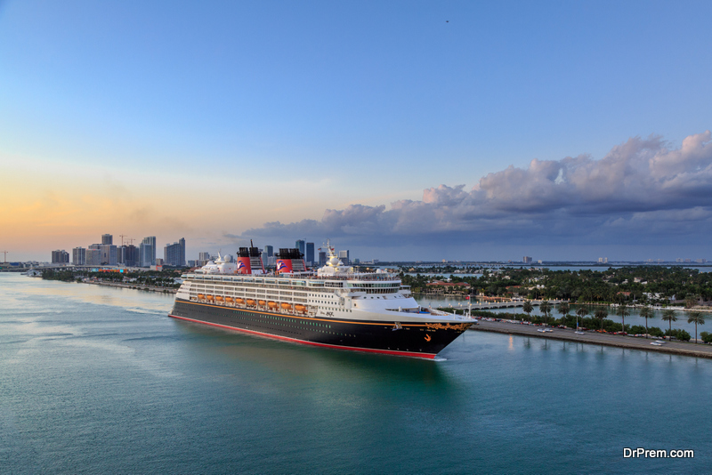 The famous Disney Cruise