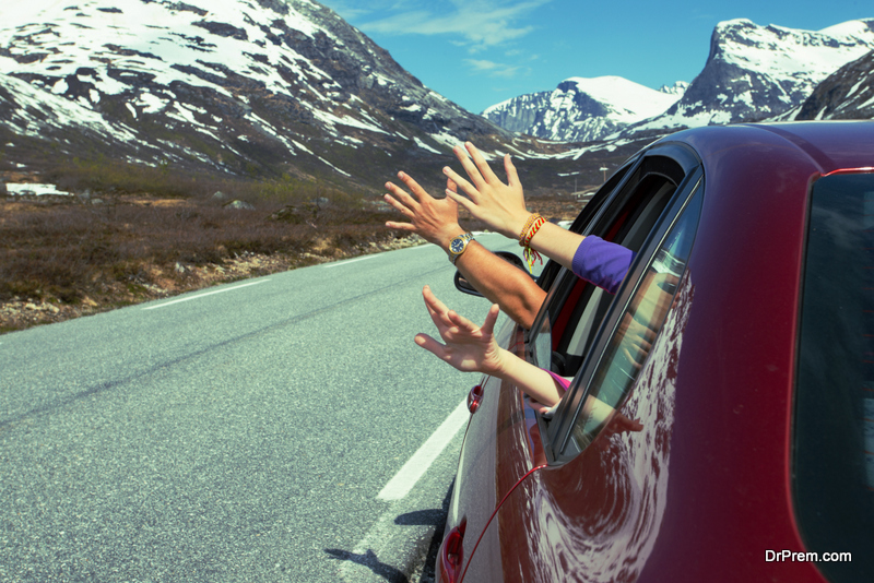 A road trip to the mountains