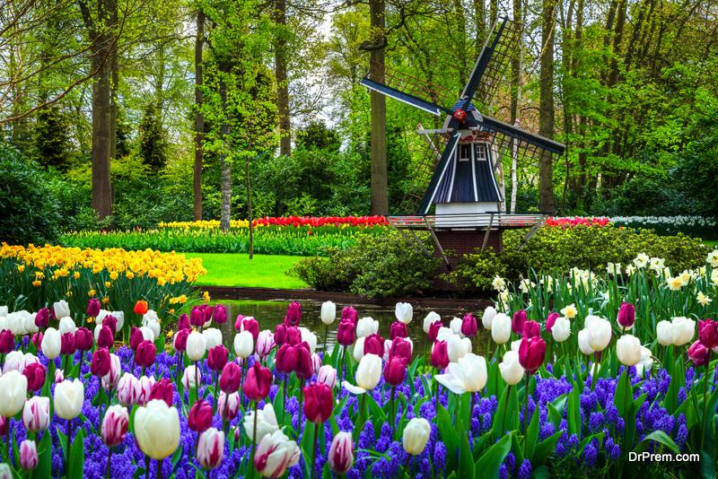 Keukenhof Park, Lisse, Holland