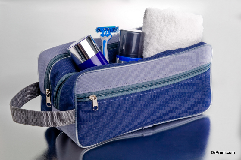 Build a travel shave kit
