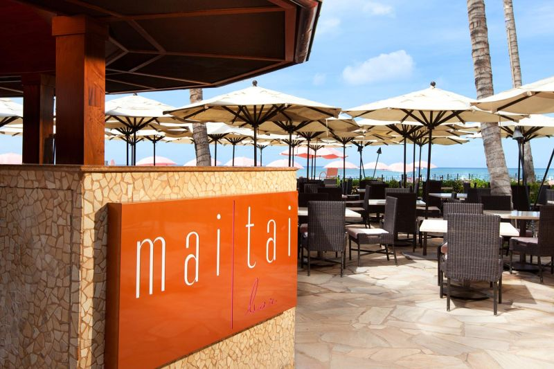 Mai Tai Bar at the Royal Hawaiian