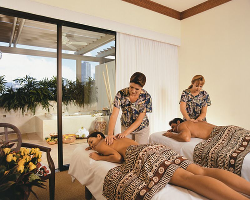 Mandara Spa at the Hilton Hawaiian Village