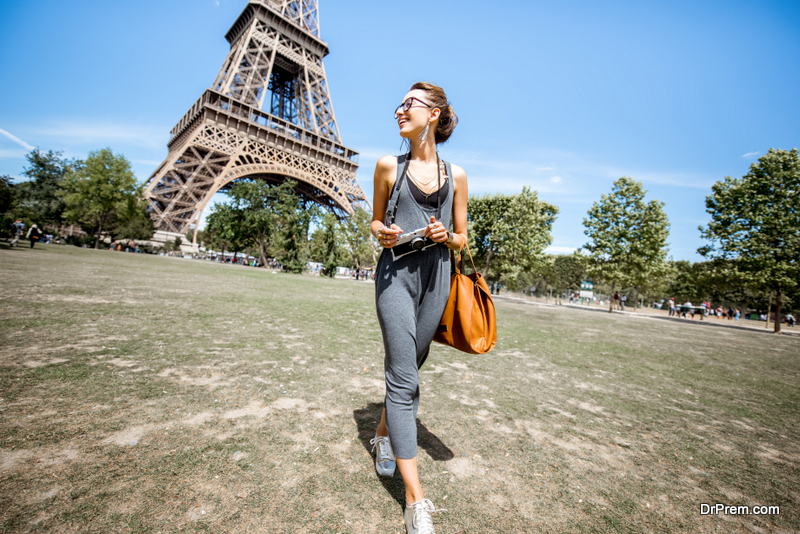visiting Paris during summers