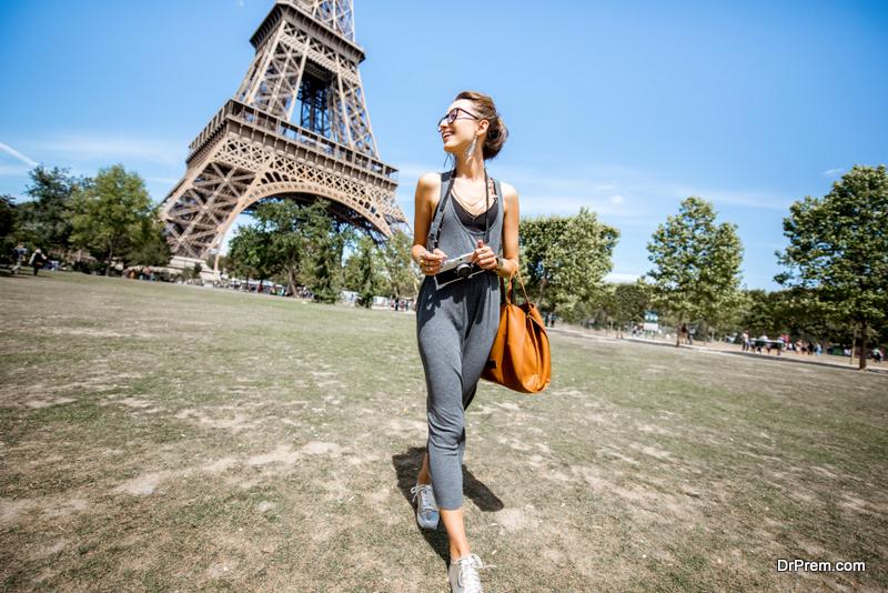 visiting Paris during summers