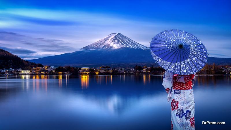 Japan is renowned for its beauty