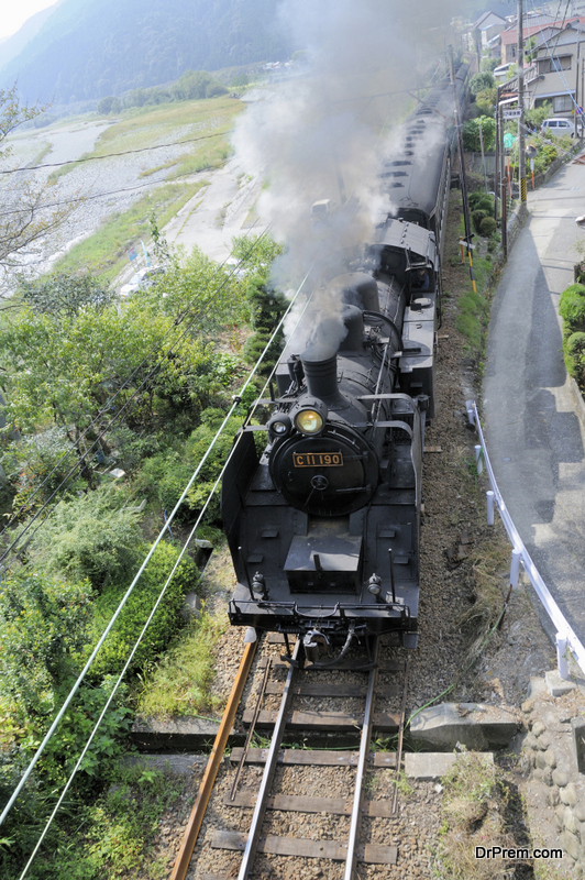Oigawa railway SL