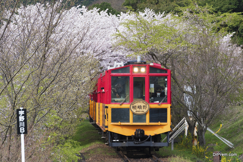 Sagano-Scenic-Railway-Romantic-Train
