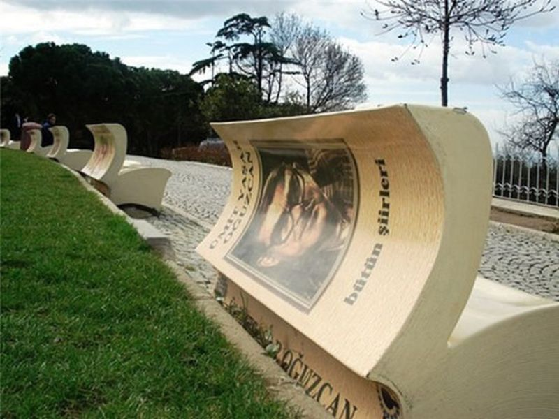 Book Benches, Istanbul