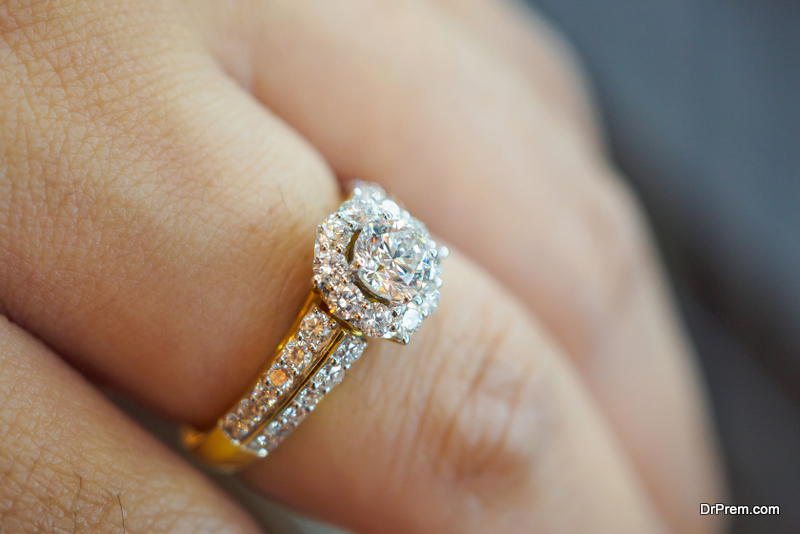 Lab Diamond Engagement Ring
