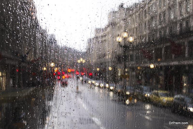 its a rainy day