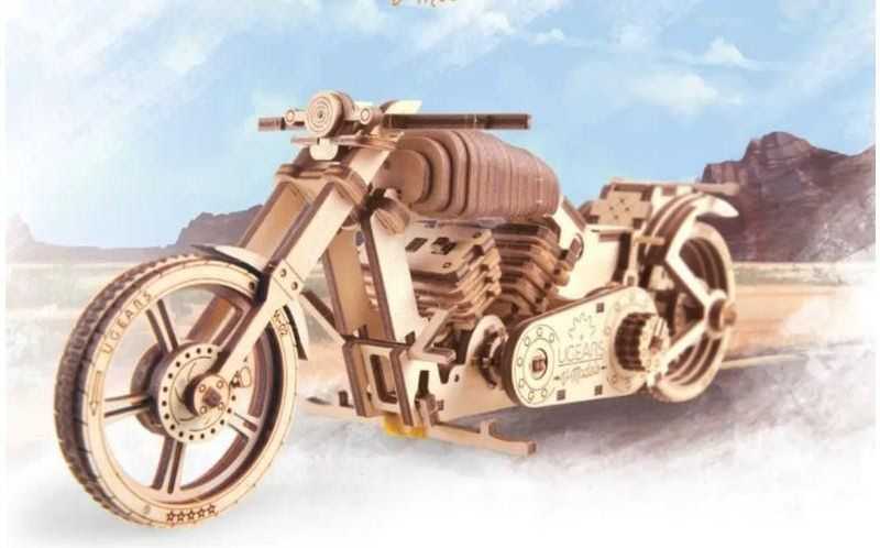 UGears Wooden Model Kits for Adults and Kids